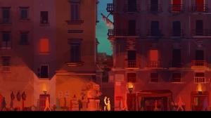 Una delle illustrazioni di Napoli realizzate per Father and Son